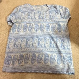 Old Navy Sheer Top Size Large